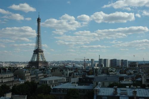 Paris Terrasse View