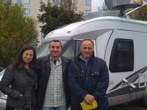 RAI and TV1 Crew