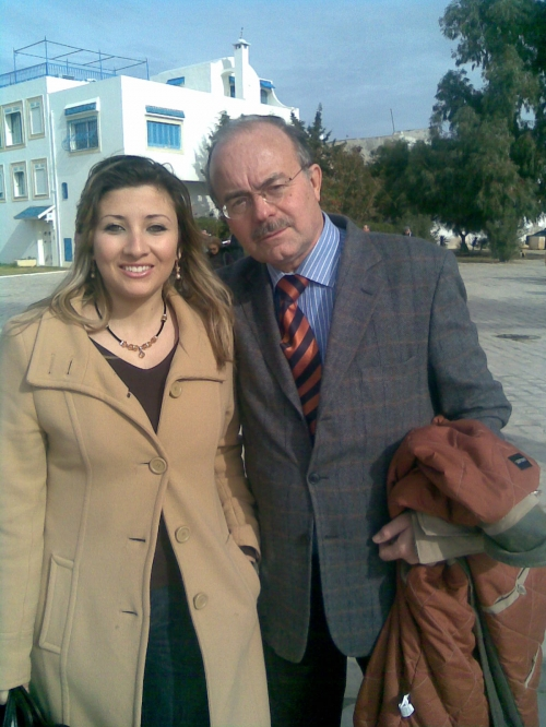 Sarah and Craxi's friend; Tunisia