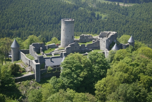 The beautiful castle amidst the world class Nuerburgring racing track