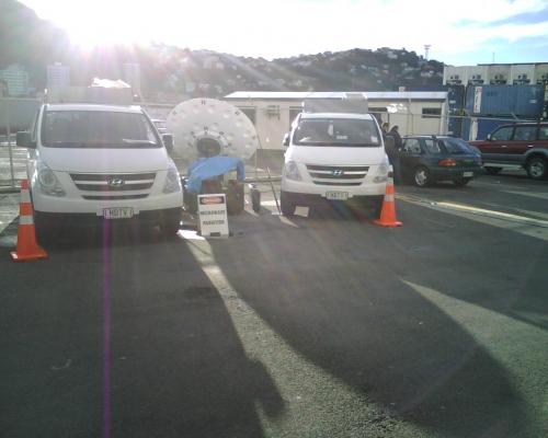 Kordia DSNG in New Zealand