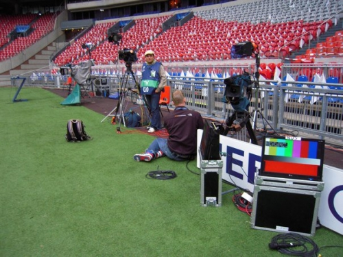Pitch side position