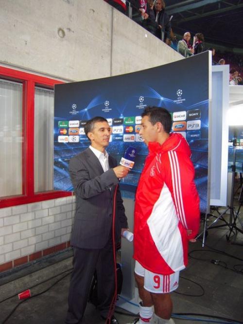 Post match flash interview