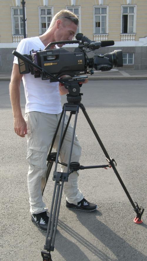 St.petersburg filming by tvdata.tv