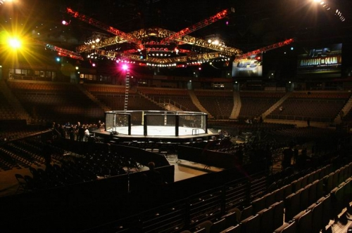 The fighting Arena