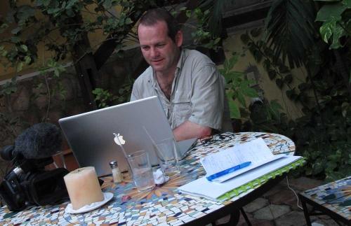 Production management on site by Yann Figuet