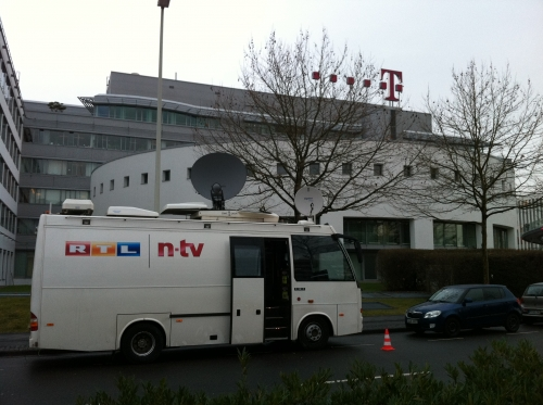 Deutsche Telekom Presser in Bonn