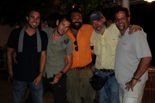 Some of the Crew in Haiti