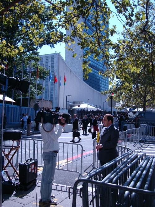 İHA - New York broadcast production - UN