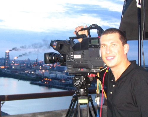 Cameraman Jacques Star, live shot in Houston