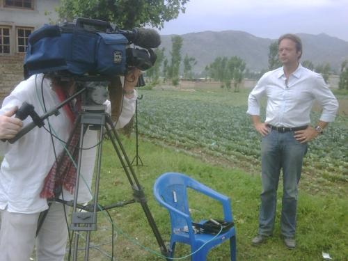 ZDF German Tv Live Interview