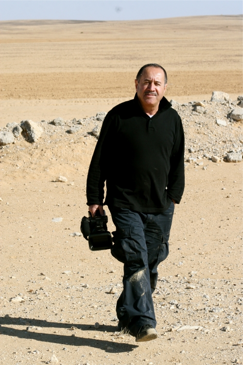 in the Jordanian desert