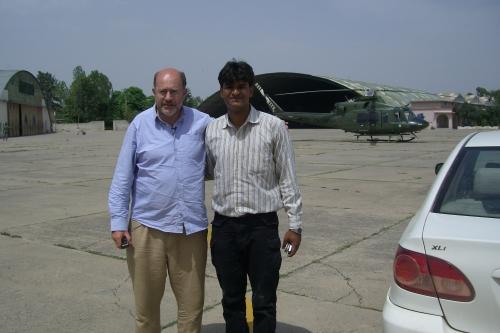 John Sweeney and Umar Munir