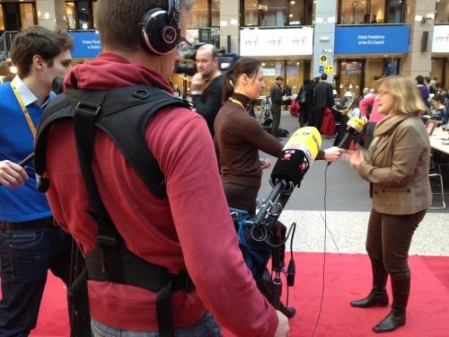 Productiehuis.eu camera crew on assignment