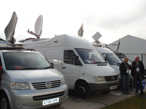 Thin Air Broadcasting SNG truck