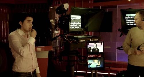 TV studio shoot