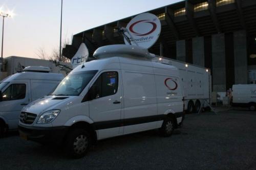 Mpeg-4 uplink for VRT and European distribution.