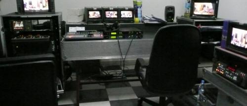 Maghreb Broadcast Studio Control Room