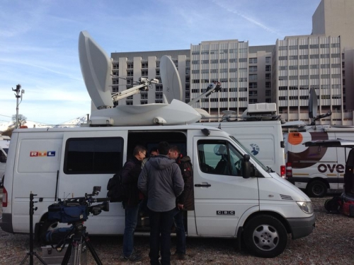 CBC on assignment for RTL and n-tv