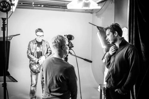 Music video shootin