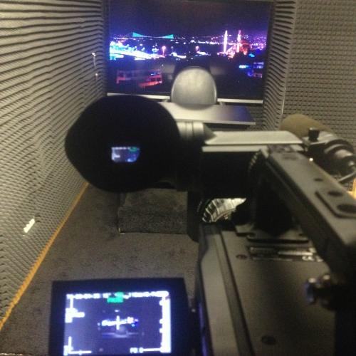 Broadcast studio in Istanbul