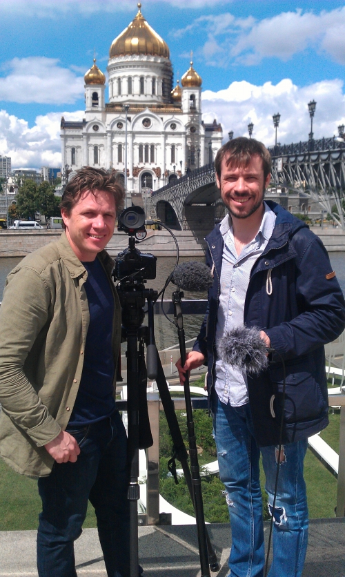 """TVDATA provides Sound Equipment and a Local Russian Soundman for a documentary project """"The Little Stars"""", one part was filmed in Moscow by an Australian Cameraman Mike Hill and a Russian based sound professional Dmitry Fadeev."""