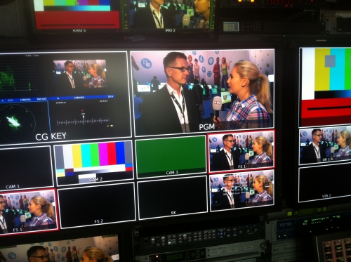 on assigment for n-tv : ITV with Jens Kosche EA