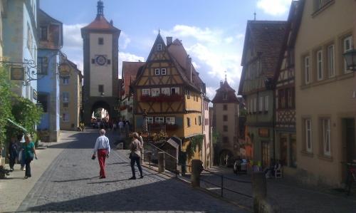 Beautifull city of Rothenburg