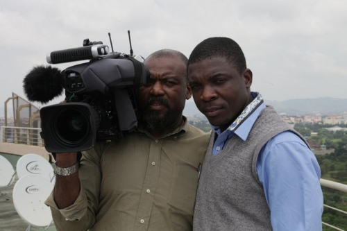 Filming in Abuja