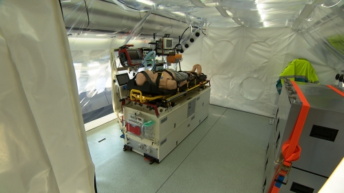The Aircraft is equipped with an isolation unit