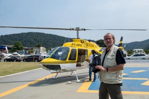 Director Ernst Daniel Nijboer for offshore helicopter filming