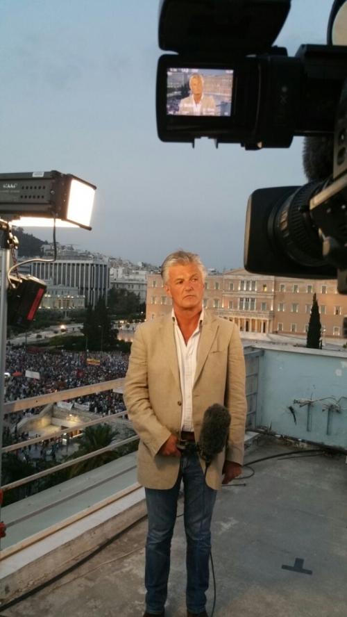 Mohammad Hussain with Tim Wilcox @BBC News