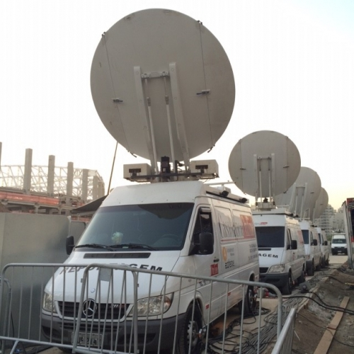Casablanca Online is getting ready for the UFC event in Rio de Janeiro!  This worldwide famous event will be live transmitted by Casablanca Online from HSBC Arena to several countries this Saturday. We are offering full operational support with 4 DSNG HD and several professionals.
