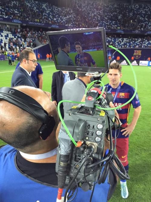 UEFA Super Cup Tbilisi 2015 I Host Broadcast & Unilateral Productions