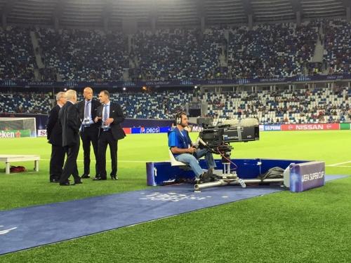 UEFA Super Cup Tbilisi 2015 I Host Broadcast
