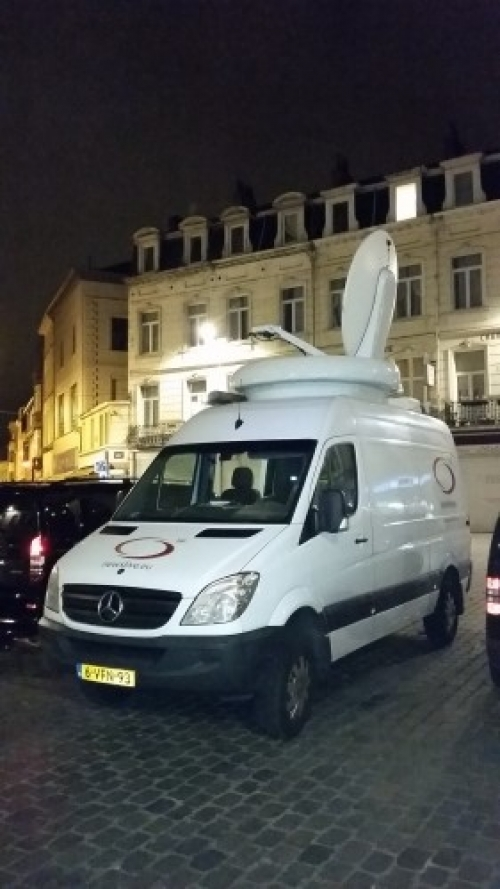 Our HD SNG in Brussels