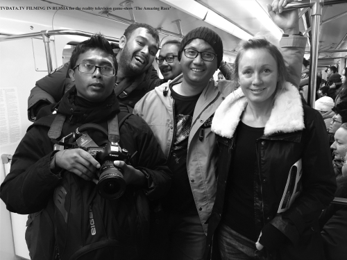 TVDATA.TV Media assisted a team of RCTI Television from Indonesia to film In MOSCOW METRO. At the beginning of February 2016, the award-winning reality television game-show 'The Amazing Race', in which teams of two rush, came to Moscow, Russia for Grand Finale.