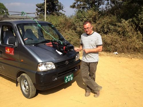 Nepal_Behind the scenes -Cameraman Jan Polak