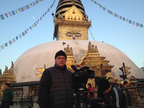 Nepal_Swayambhunath_temple. Cameraman Jan Polak