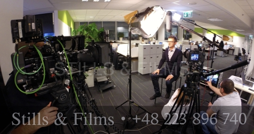 Corporate shoot with Sony F55 and Canon 5D