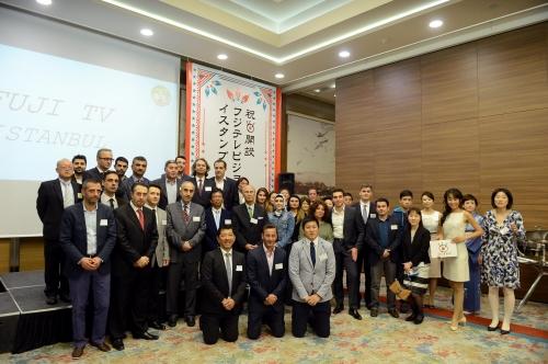 Fuji TV and IHA teams together