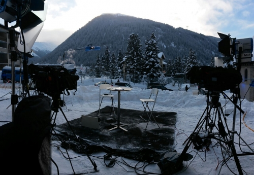 Live facilities from our garden position in Davos