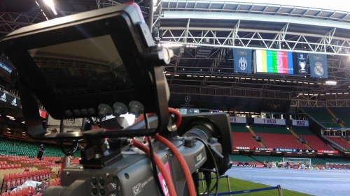 INA TV Live Pre Game show for COSMOTE TV Greece