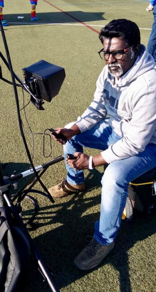 Football match Covered/Dubai sports city