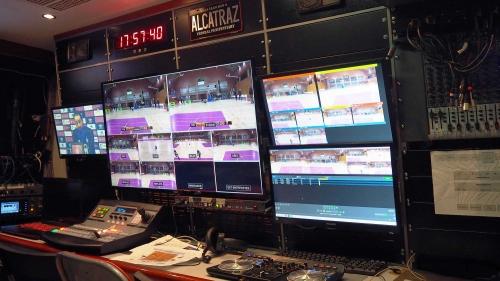 Graphics/TV Producer/Mixer/ Replays technician/ Sound technician