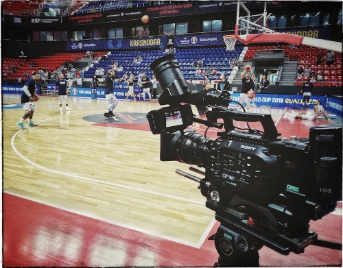Filming in Krasnodar for FIBA Media / Pfilippov3@gmail.com