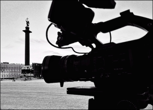 Filming about military blockade of Leningrad