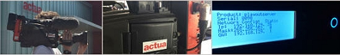 Actua supplies IP-SNG and cellular video transmission solutions for outside broadcast production.