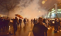 Police use teargas in Istanbul after court appoint trustees to run Feza Media Group