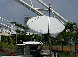 Globecast supplied uplink transmission and distribution services for African Cup of Nations in Gabon.